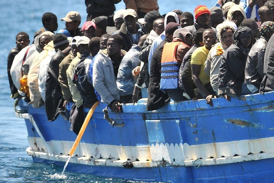 ghana africa refugees italy europe 2015 crisis immigration UN objectivism ayn rand