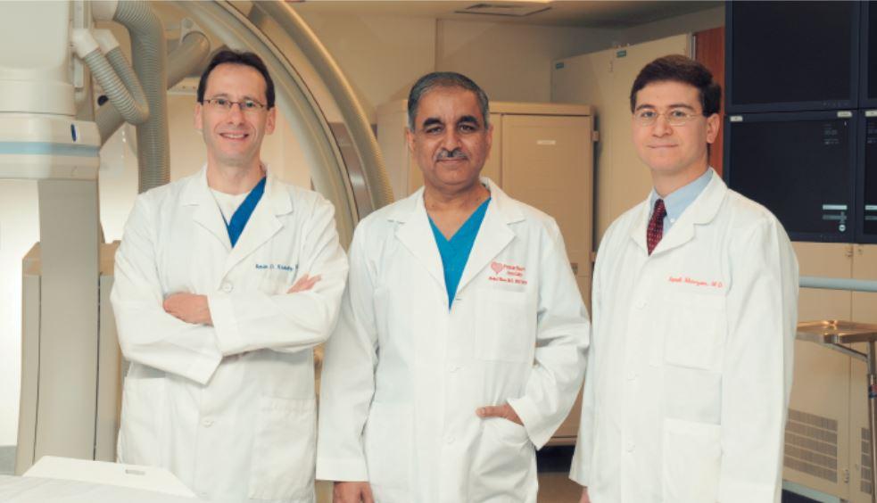 Drs. Kevin Kravitz, Abdul Wase, and Sameh Khouzam