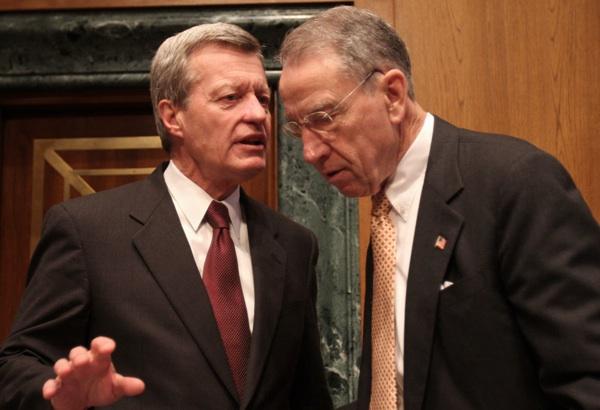 Senators Grassley, a Republican, and Max Baucus, a Democrat.