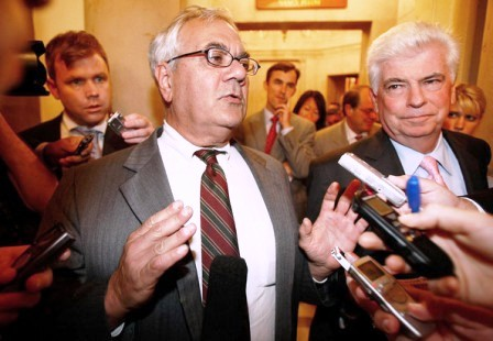 Reps. Barney Frank (D-MA) and Christopher Dodd (D-CT)