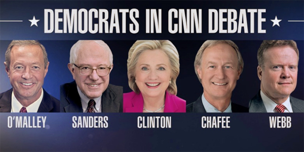 Democrats CNN debate 2015 bernie sanders hillary clinton analysis