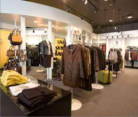 Inside Fisher's Connecticut Avenue boutique.
