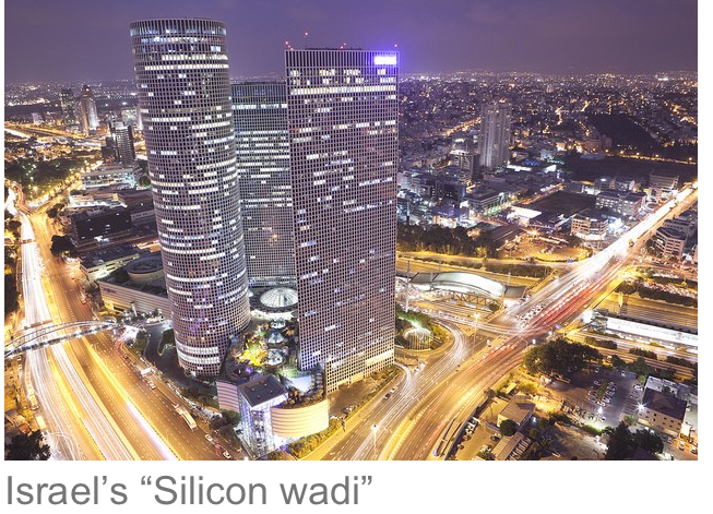 3 israel silicon wadi tech startups