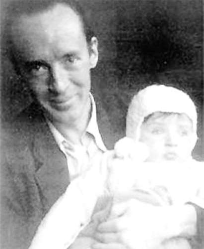 Nabokov with son AA