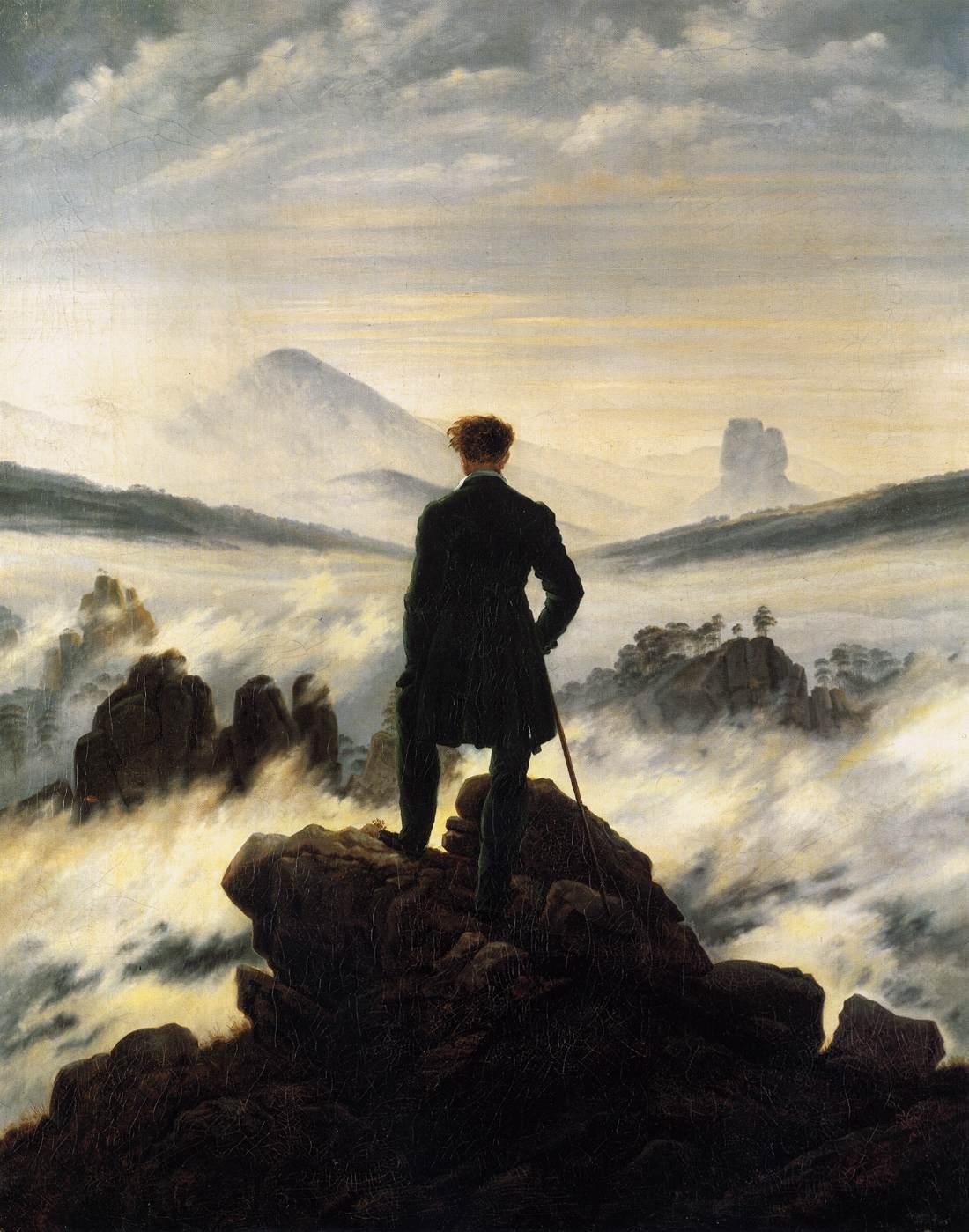 wanderer above a sea of fog