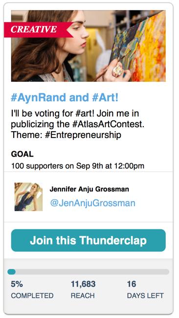 atlas art contest social media promotion