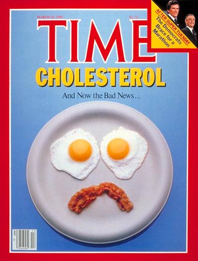 bad news eggs and cholesterol