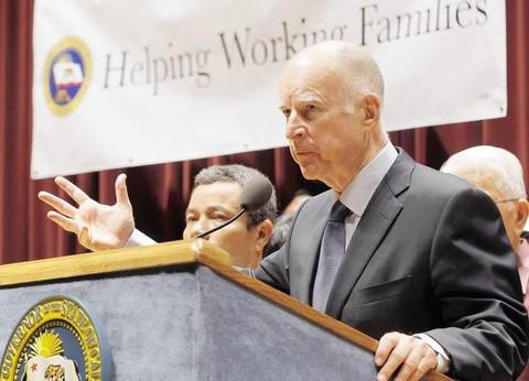 la minimum wage california J Brown