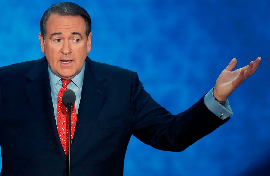 Mike Huckabee gays God GOP 2016 election gop civil war leave republican party