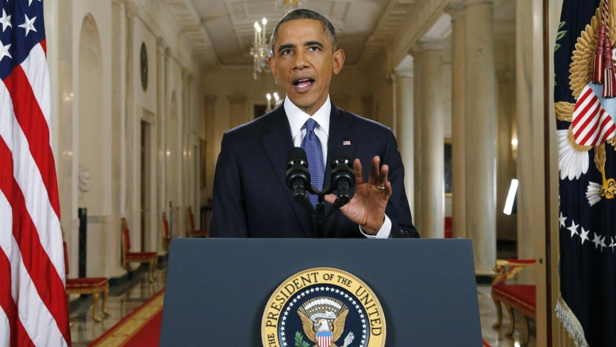 Obama immigration speech undocumented workers deportation work permits executive action constitution