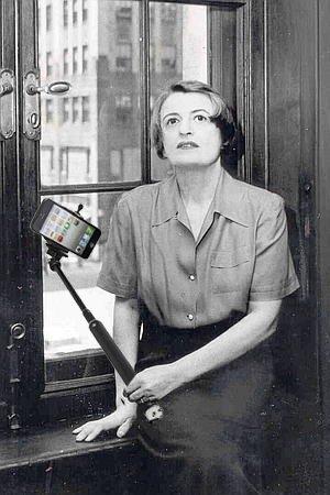 ayn rand selfie
