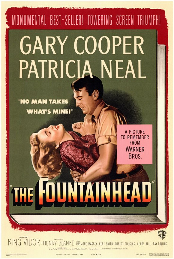 the fountainhead movie poster 1949 1020143784