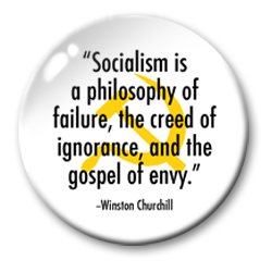 socialism churchill sample