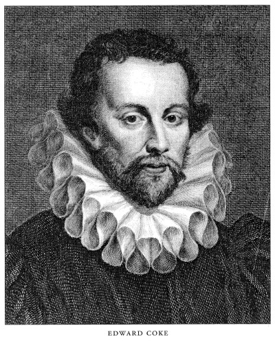 Coke, who helped shape the tradition of liberty under law, was attorney general of England under Elizabeth I.