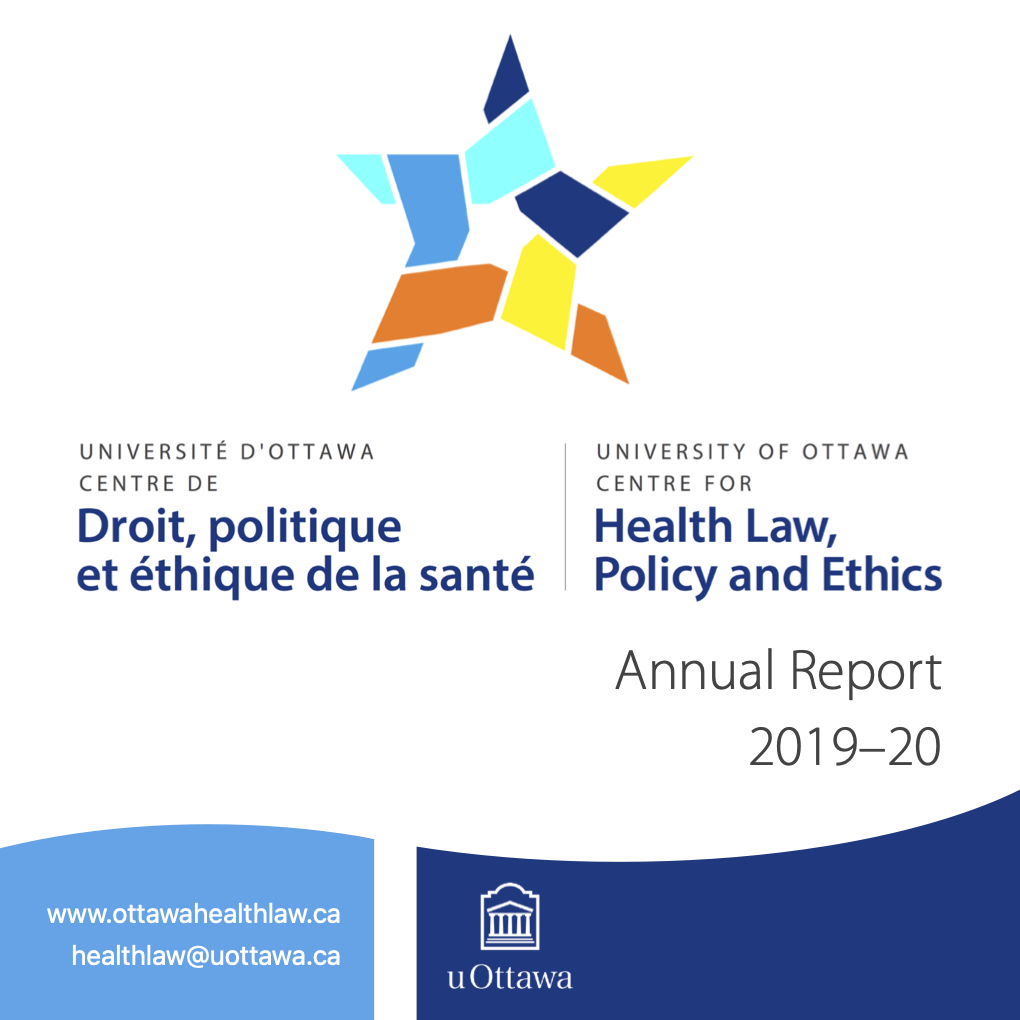 CHLPE Annual Report cover