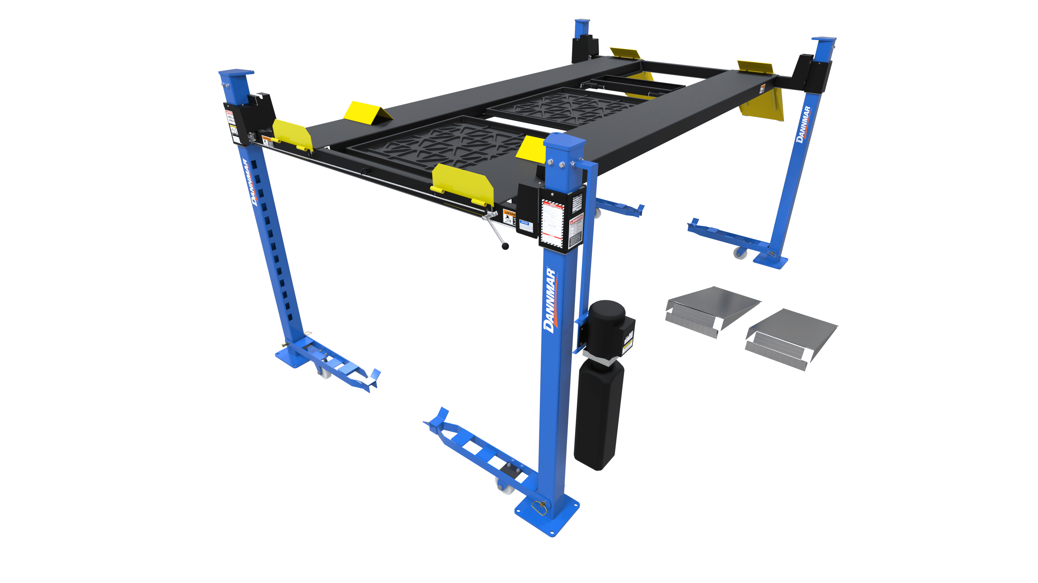 Dannmar D4-9 9,000 4 Post Lift Package