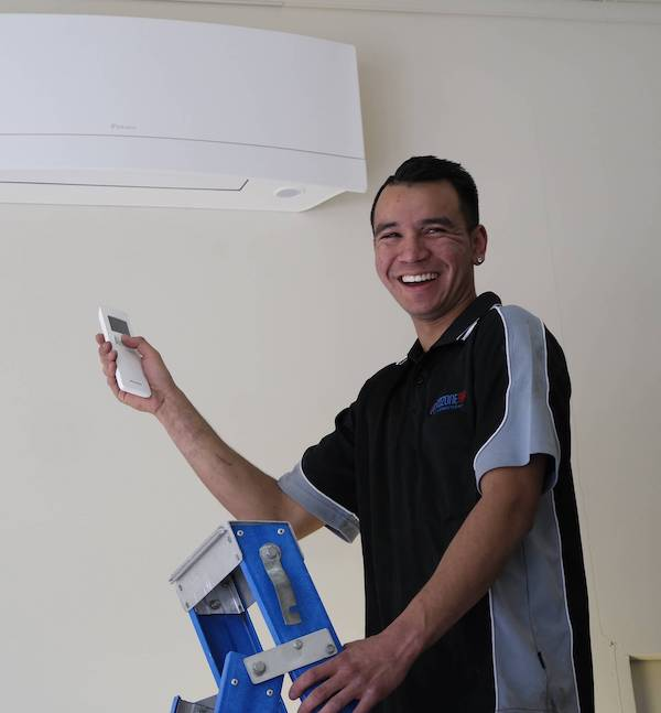 air con installation team