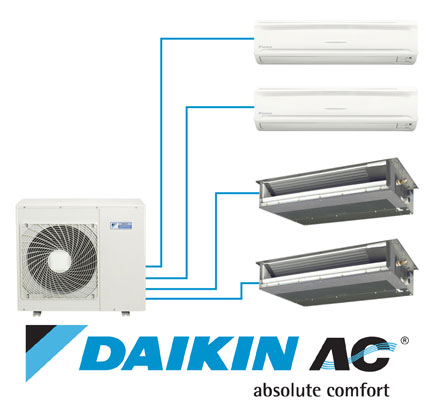 Daikin Multi split sydney installation