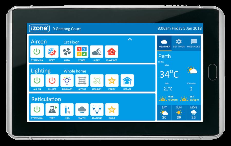 iZone Nexus Touchscreen