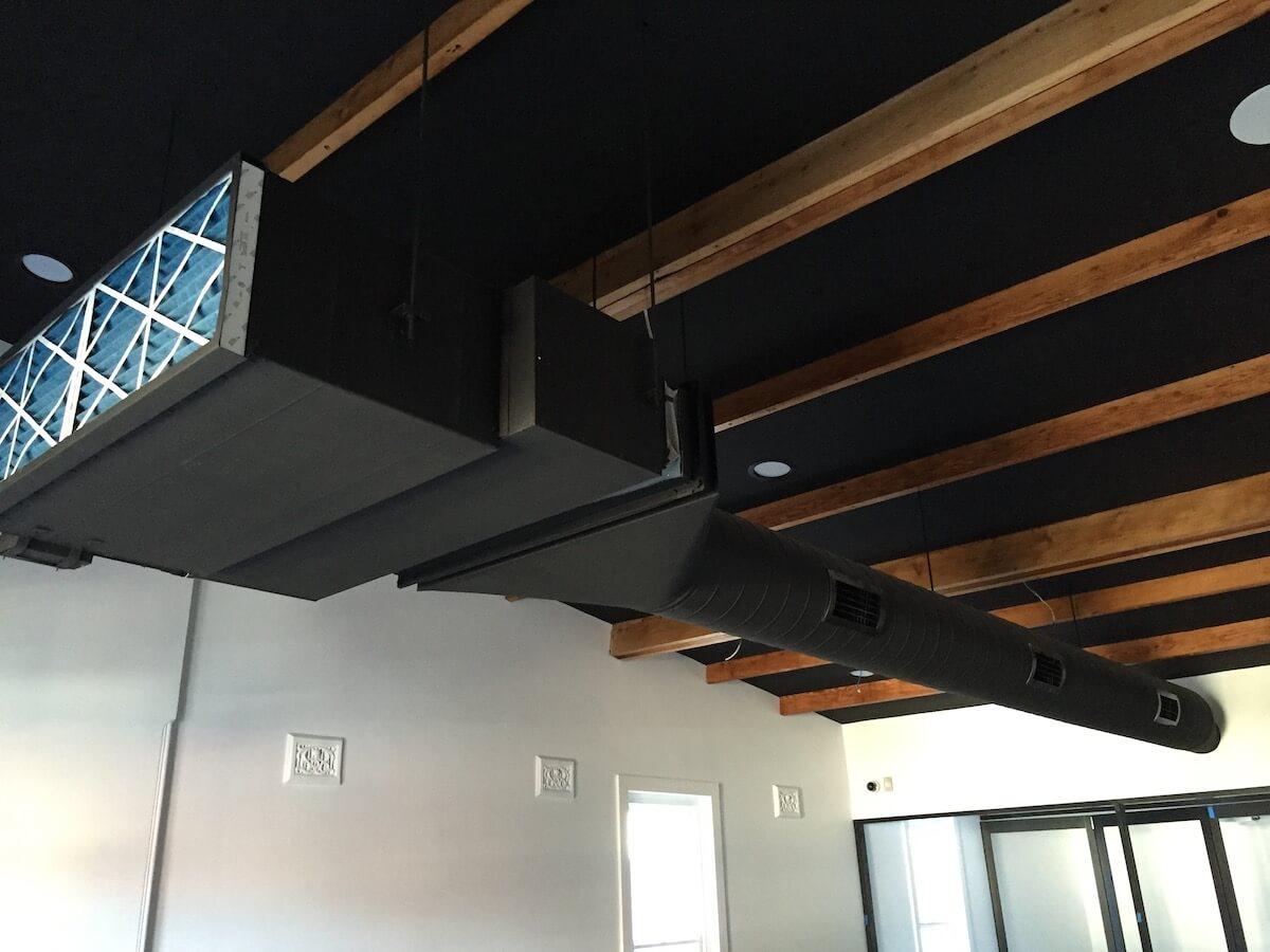 black air con install