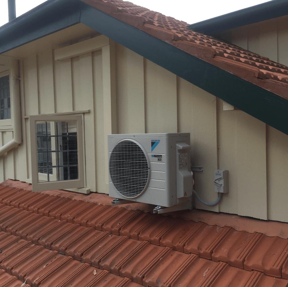 daikin split install