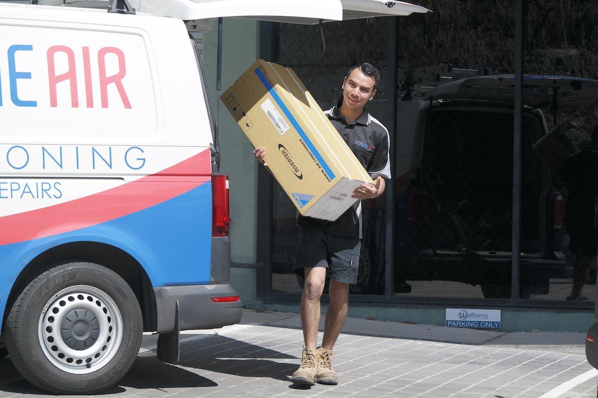 air con in box