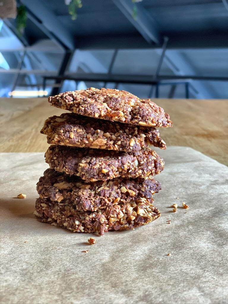 Almond protein cookie
