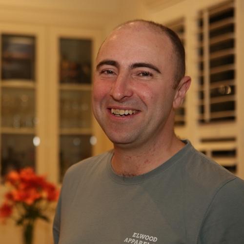profile shot of luke marshall