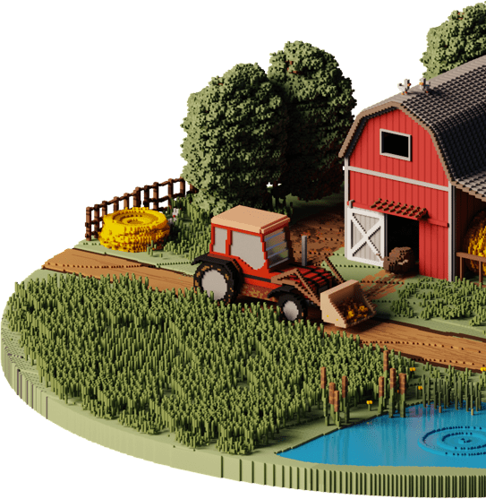 Haekka Farm Illustration