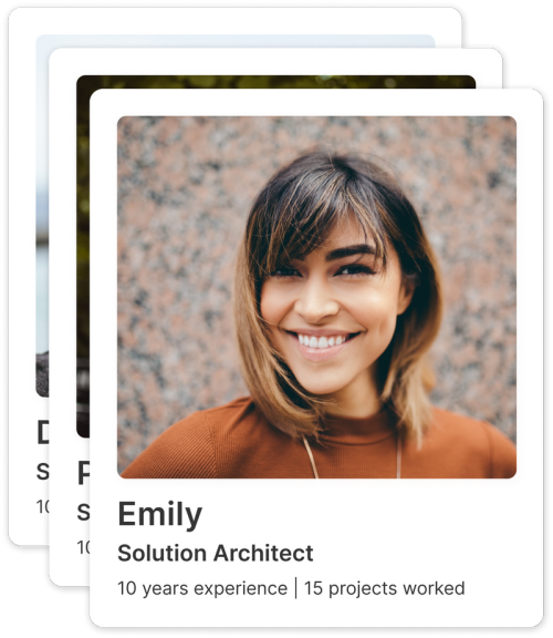 Profile for a Salesforce Freelancer with a background as a Salesforce Solution Architect