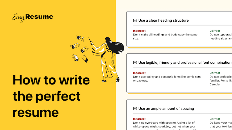 How to write the perfect resume in 2021