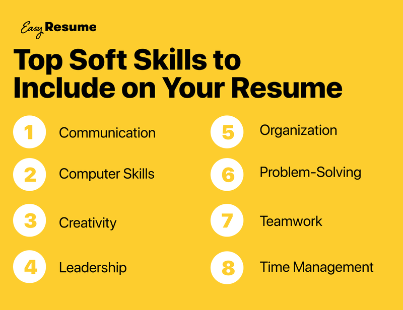 Top Soft Skills to include on your resume