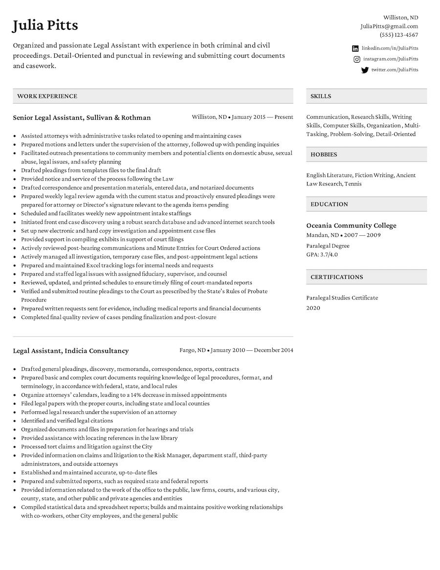 ATS-Friendly Resume Templates
