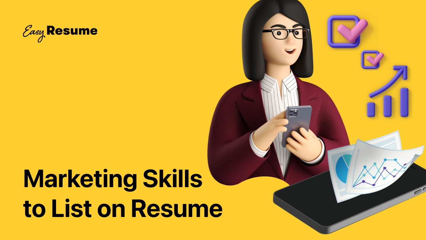 20+ Key Marketing Skills to List on Your Resume in 2021 (With Examples)