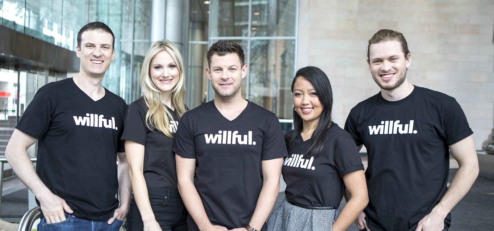 Members of the Willful team