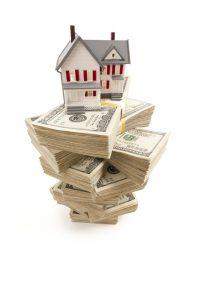 house on money pile