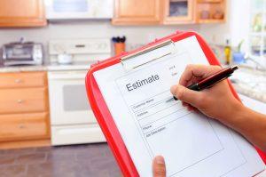 hiring a contractor clipboard