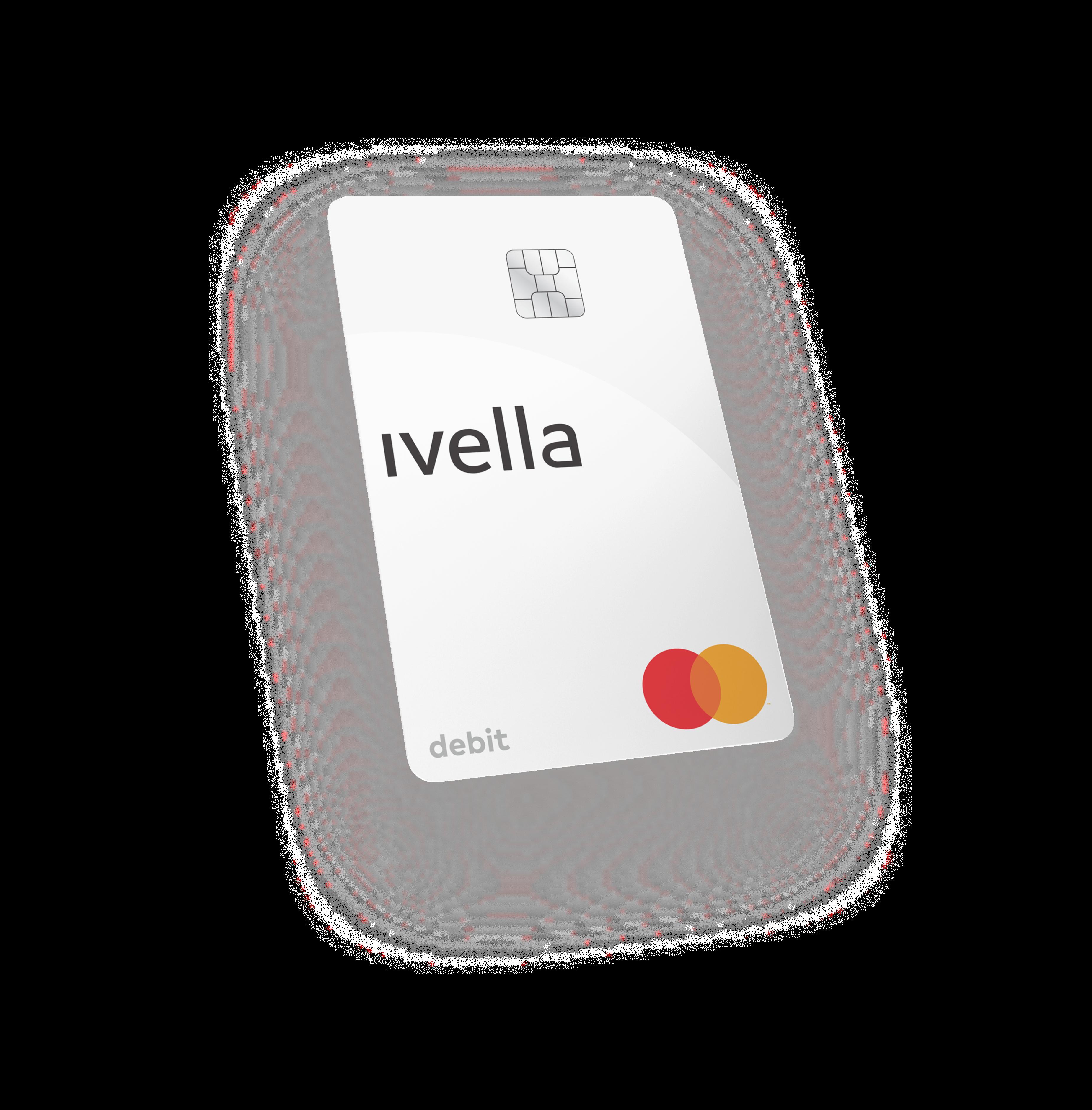 Ivella Mastercard Debit Card 3D mockup