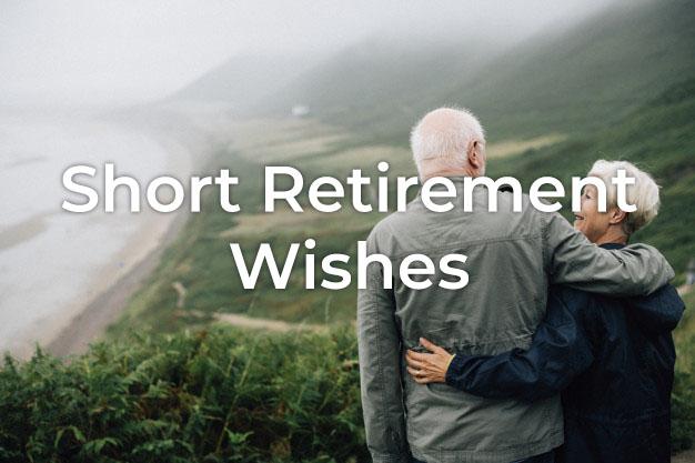 Short Retirement Wishes