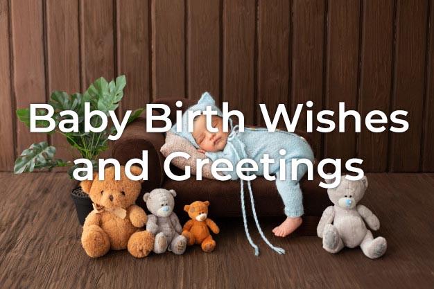 Baby Birth Wishes