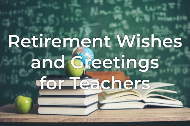Retirement Wishes for Teacher