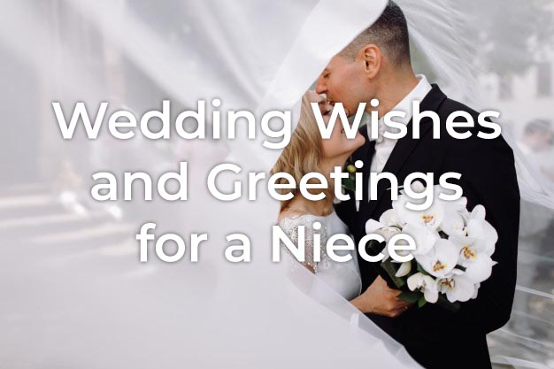 Wedding Wishes for a Niece