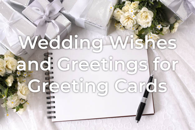 Wedding Wishes for Card
