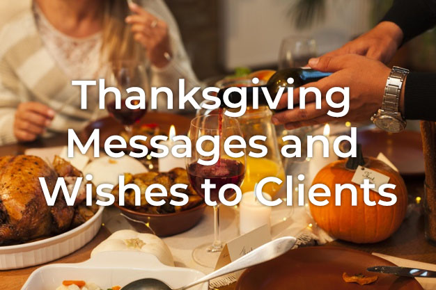 Thanksgiving Message to Clients