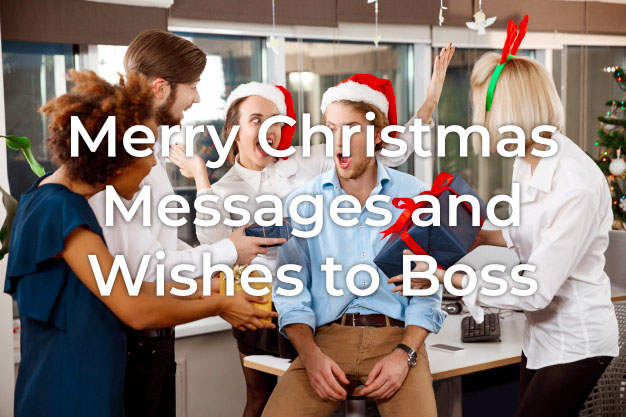 Christmas Messages to Boss