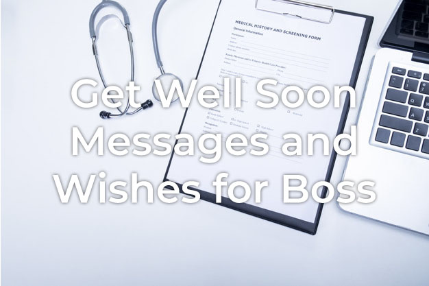 Get Well Soon Message for Boss