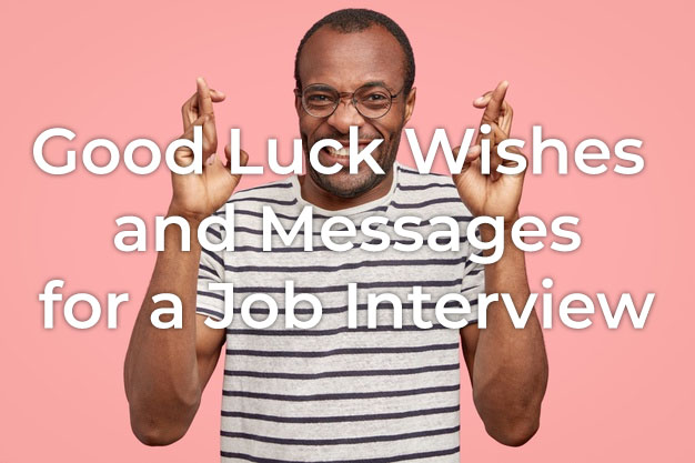 Good Luck Message for Interview