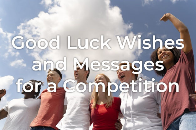 Good Luck Wishes for Competition