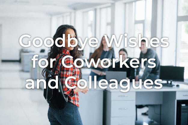 Goodbye Wishes for Coworker