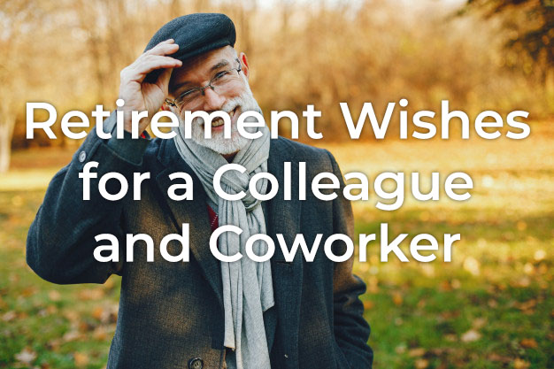 Retirement Wishes for Colleague